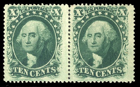 Cost of US Stamps Scott Catalogue 35 - 10c 1859 Washington. Cherrystone Auctions, Jul 2015, Sale 201507, Lot 24