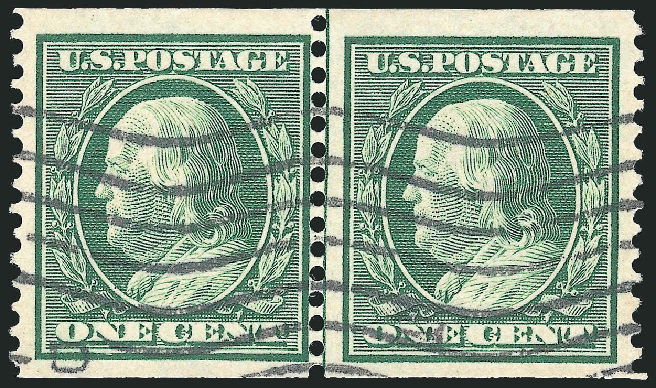 Price Of US Stamps Scott Cat 352 1c 1909 Benjamin Franklin Coil Page 3