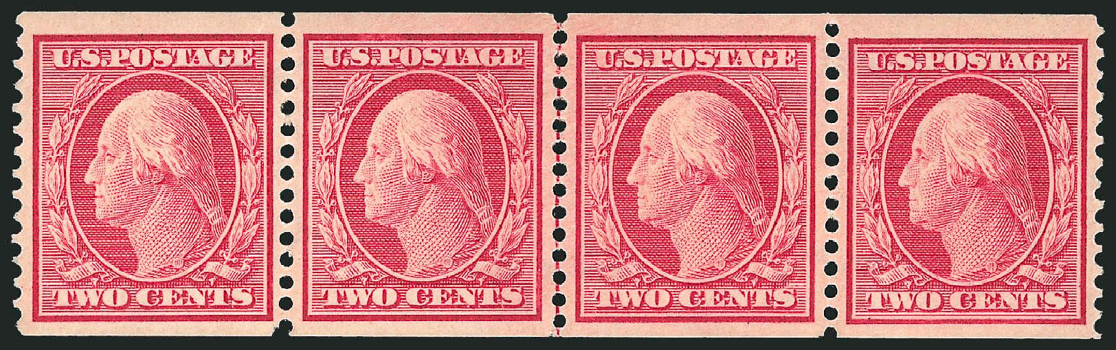 US Stamps Price Scott Catalogue # 353 - 1909 2c Washington Coil. Robert Siegel Auction Galleries, Feb 2015, Sale 1093, Lot 131