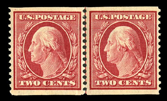 US Stamps Prices Scott Catalog # 353: 2c 1909 Washington Coil. Cherrystone Auctions, Jul 2015, Sale 201507, Lot 2124