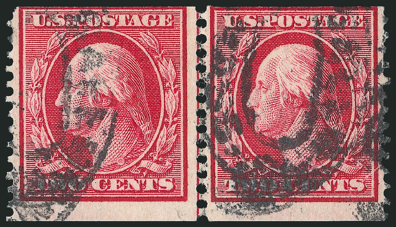 Cost of US Stamp Scott Catalog #353 - 2c 1909 Washington Coil. Robert Siegel Auction Galleries, Feb 2015, Sale 1093, Lot 134