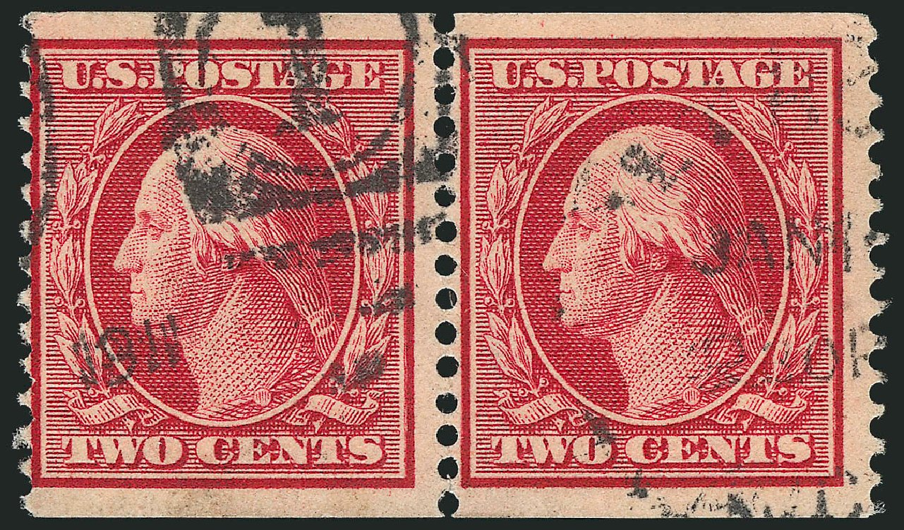 Cost of US Stamp Scott Catalogue #353 - 2c 1909 Washington Coil. Robert Siegel Auction Galleries, Feb 2015, Sale 1093, Lot 133