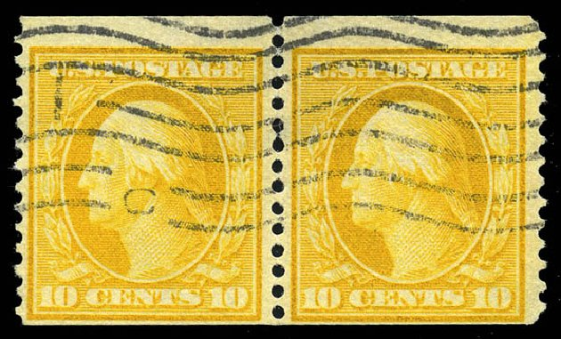 Prices of US Stamp Scott Cat. #356 - 10c 1909 Washington Coil. Matthew Bennett International, Feb 2015, Sale 351, Lot 168