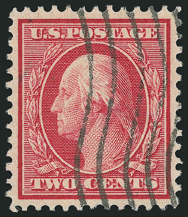 Value of US Stamp Scott Cat. 358: 2c 1909 Washington Bluish Paper. Robert Siegel Auction Galleries, Feb 2015, Sale 1093, Lot 157