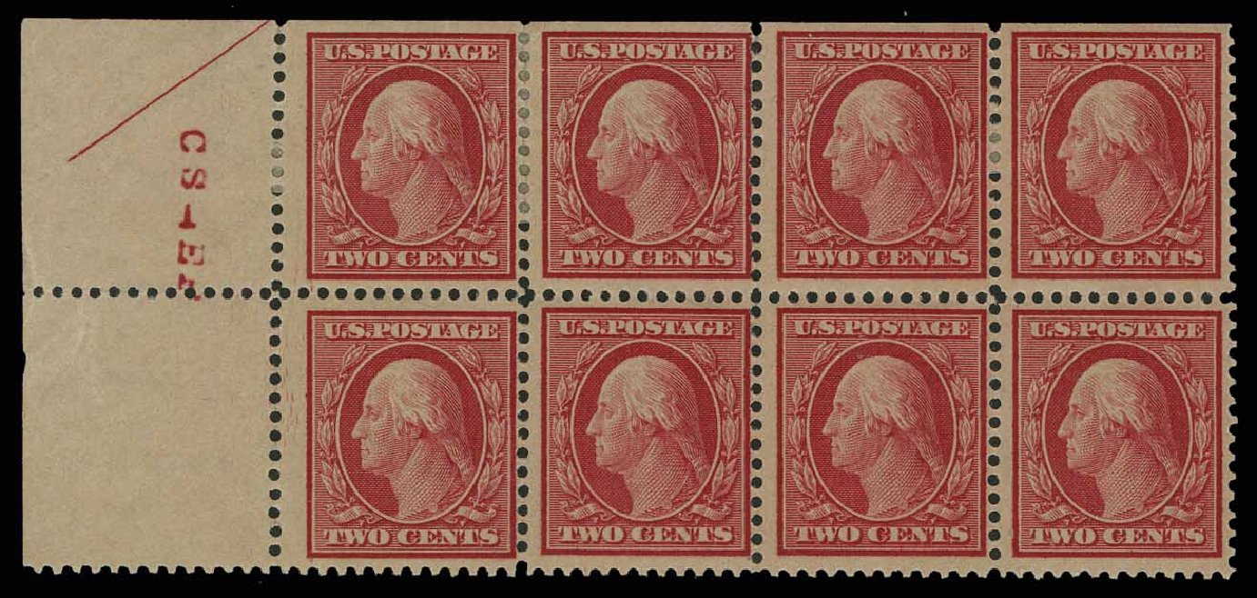 Prices of US Stamps Scott #358: 1909 2c Washington Bluish Paper. H.R. Harmer, May 2014, Sale 3005, Lot 1255