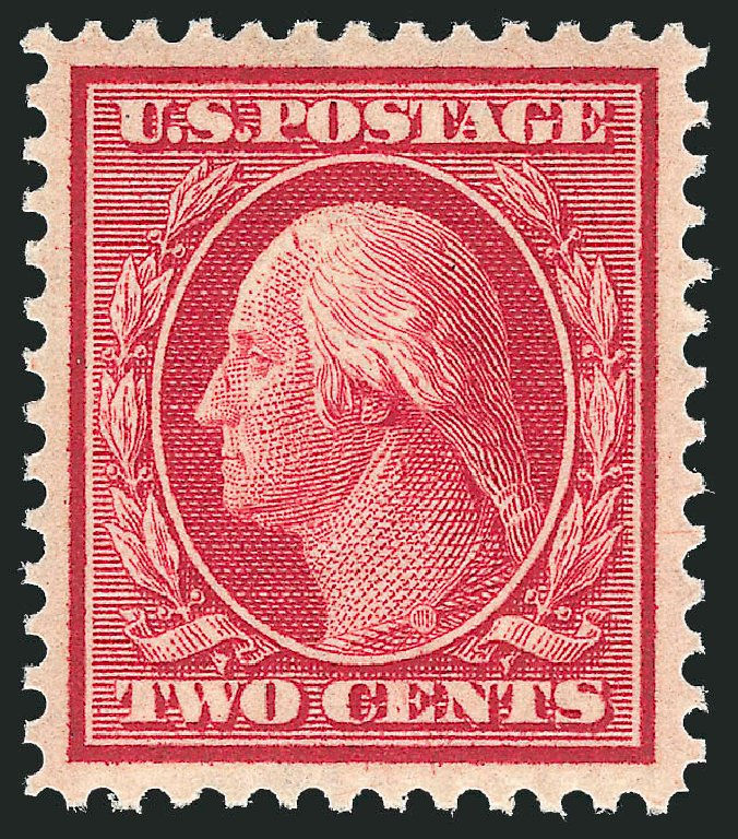 Cost of US Stamps Scott Catalogue 358 - 2c 1909 Washington Bluish Paper. Robert Siegel Auction Galleries, Feb 2015, Sale 1093, Lot 155