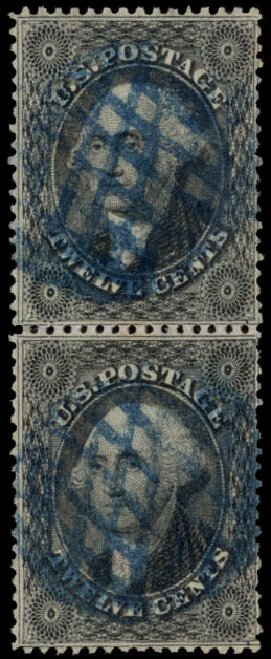 Costs of US Stamps Scott 36: 12c 1857 Washington. Daniel Kelleher Auctions, May 2015, Sale 669, Lot 2468