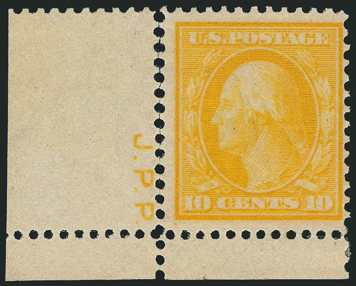 US Stamp Price Scott #364: 10c 1909 Washington Bluish Paper. Robert Siegel Auction Galleries, Nov 2013, Sale 1061, Lot 3868