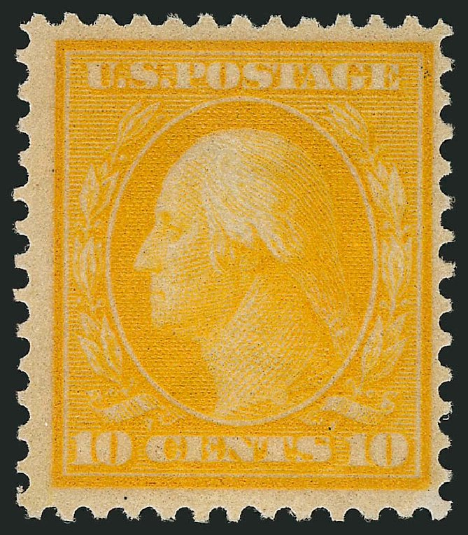Costs of US Stamps Scott Catalogue # 364 - 10c 1909 Washington Bluish Paper. Robert Siegel Auction Galleries, Mar 2014, Sale 1067, Lot 1448
