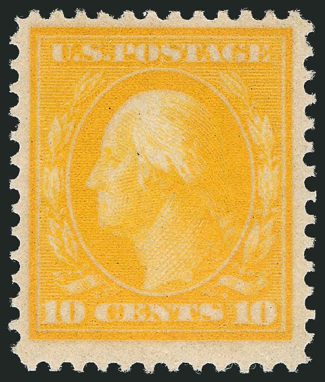 Price of US Stamp Scott Catalogue # 364: 10c 1909 Washington Bluish Paper. Robert Siegel Auction Galleries, Nov 2013, Sale 1061, Lot 3869