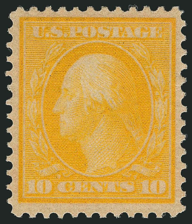 US Stamp Prices Scott Cat. # 364 - 1909 10c Washington Bluish Paper. Robert Siegel Auction Galleries, Dec 2013, Sale 1062, Lot 544