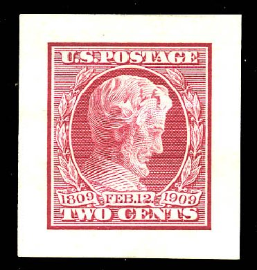 Values of US Stamp Scott Cat. #367 - 2c 1909 Lincoln. Matthew Bennett International, May 2015, Sale 352, Lot 80