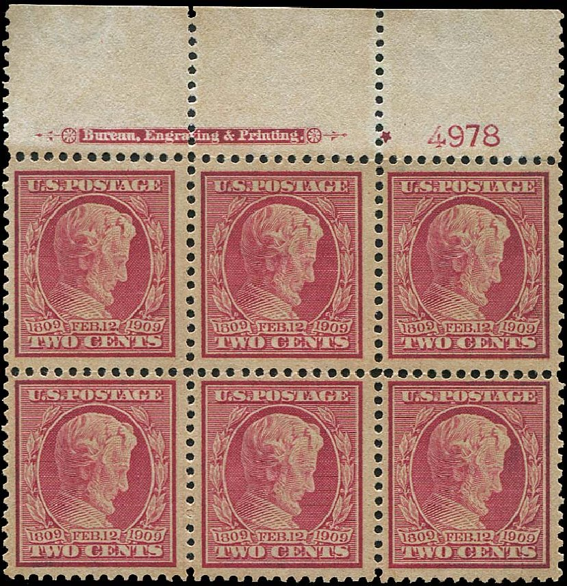 Cost of US Stamp Scott 369: 2c 1909 Lincoln Bluish Paper. Regency-Superior, Aug 2015, Sale 112, Lot 1329