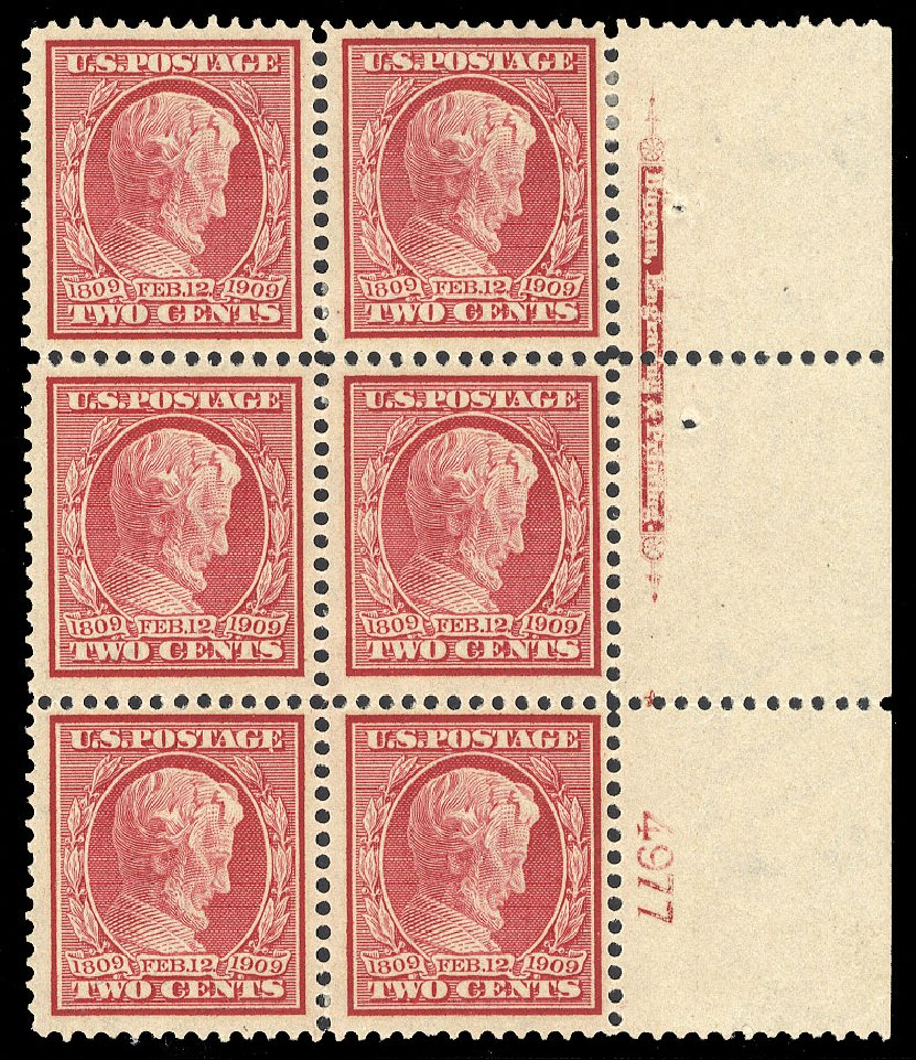 Price of US Stamps Scott #369: 2c 1909 Lincoln Bluish Paper. Cherrystone Auctions, Jul 2015, Sale 201507, Lot 76