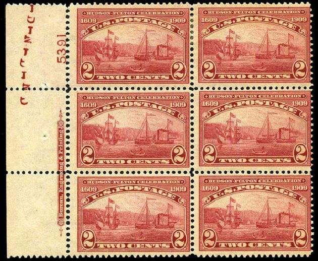 Price of US Stamps Scott #372 - 2c 1909 Hudson-Fulton. Harmer-Schau Auction Galleries, Oct 2013, Sale 99, Lot 176