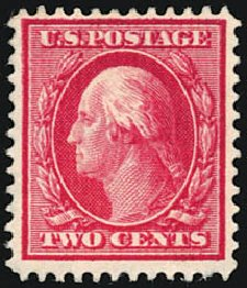 Prices of US Stamps Scott Cat. # 375 - 2c 1910 Washington Perf 12. Schuyler J. Rumsey Philatelic Auctions, Apr 2015, Sale 60, Lot 2358