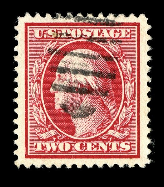 US Stamp Values Scott 375 - 2c 1910 Washington Perf 12. Spink Shreves Galleries, May 2014, Sale 148, Lot 280
