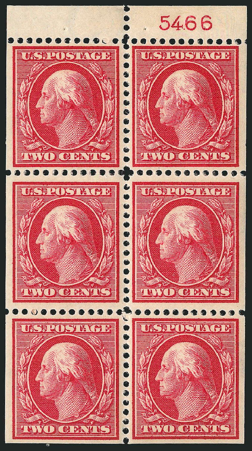 Prices of US Stamp Scott 375: 1910 2c Washington Perf 12. Robert Siegel Auction Galleries, Sep 2014, Sale 1078, Lot 492