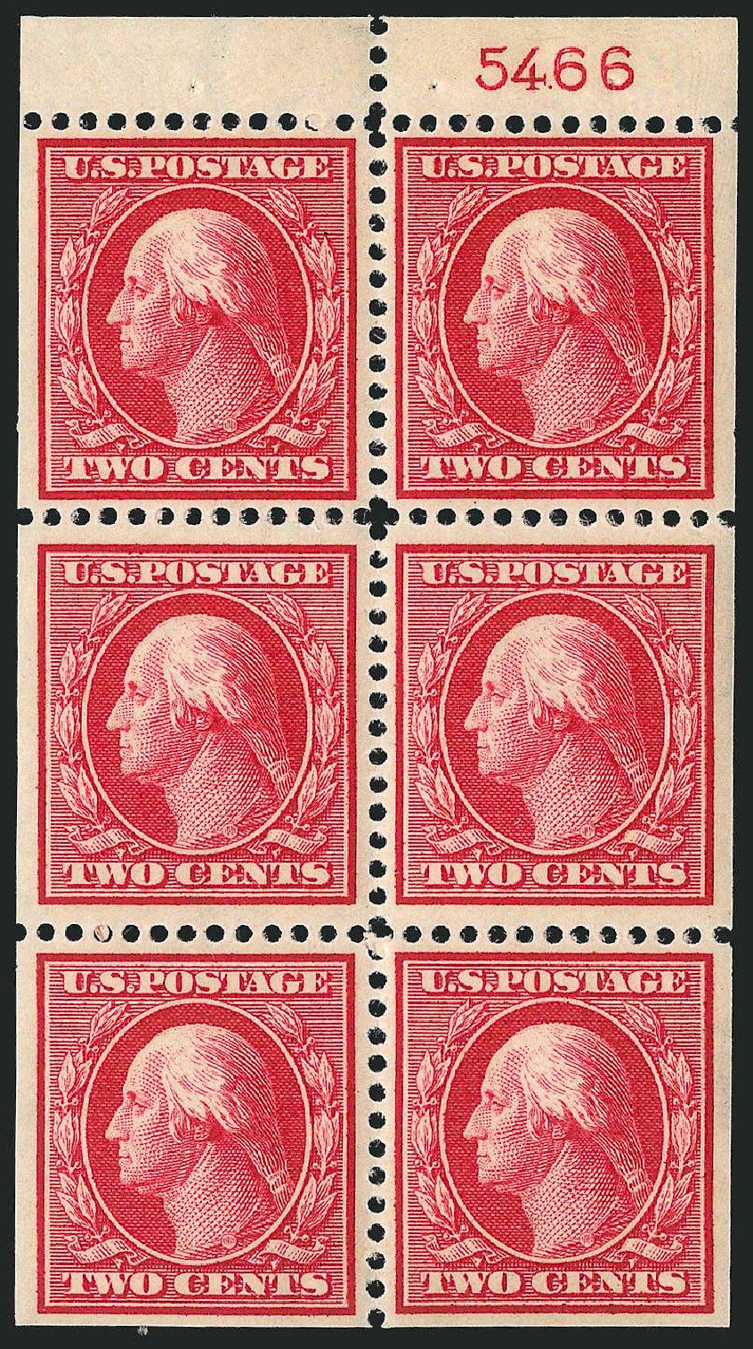 Prices of US Stamp Scott 375: 1910 2c Washington Perf 12. Robert Siegel Auction Galleries, Sep 2014, Sale 1078, Lot 492
