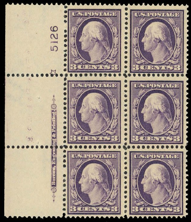 Costs of US Stamps Scott 376: 3c 1910 Washington Perf 12. Daniel Kelleher Auctions, Apr 2013, Sale 636, Lot 328