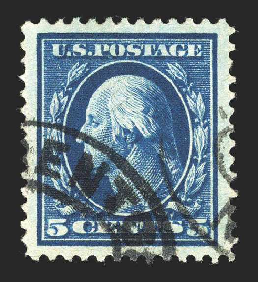Cost of US Stamps Scott Cat. # 378: 5c 1911 Washington Perf 12. Spink Shreves Galleries, Mar 2013, Sale 142, Lot 338