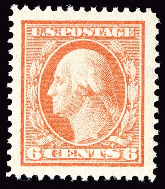 Cost of US Stamp Scott Catalogue # 379 - 1911 6c Washington Perf 12. Spink Shreves Galleries, May 2014, Sale 148, Lot 281