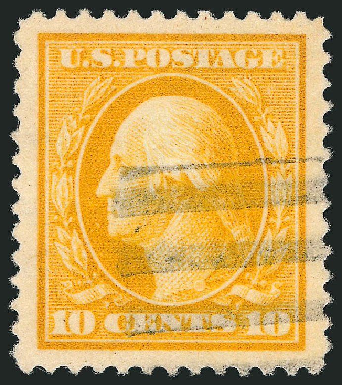 US Stamp Prices Scott Catalogue # 381 - 1911 10c Washington Perf 12. Robert Siegel Auction Galleries, Feb 2015, Sale 1093, Lot 190