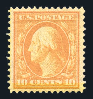 US Stamp Prices Scott Catalogue # 381: 10c 1911 Washington Perf 12. Harmer-Schau Auction Galleries, Aug 2015, Sale 106, Lot 1786