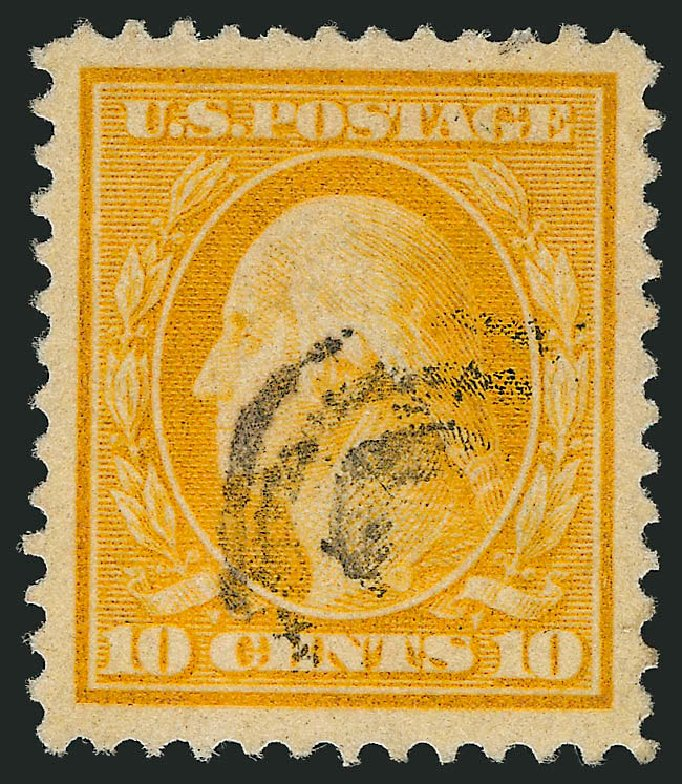 Cost of US Stamps Scott Cat. # 381 - 10c 1911 Washington Perf 12. Robert Siegel Auction Galleries, Sep 2014, Sale 1078, Lot 496