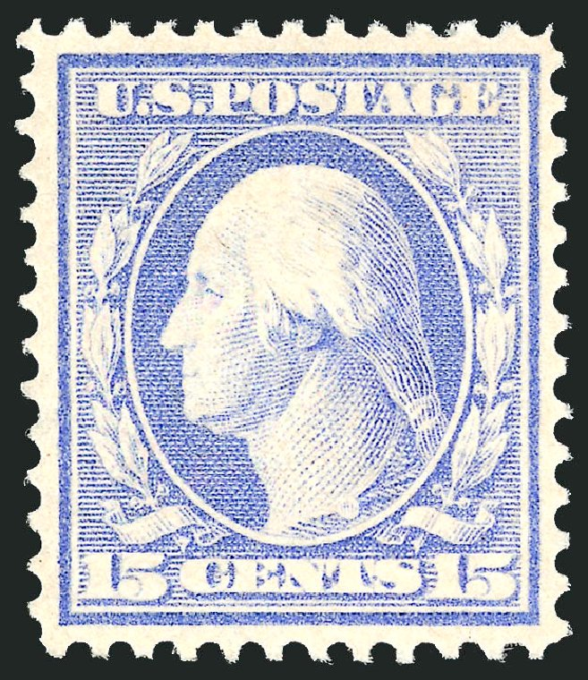 Price of US Stamp Scott Catalogue 382 - 15c 1911 Washington Perf 12. Robert Siegel Auction Galleries, Dec 2014, Sale 1090, Lot 1484