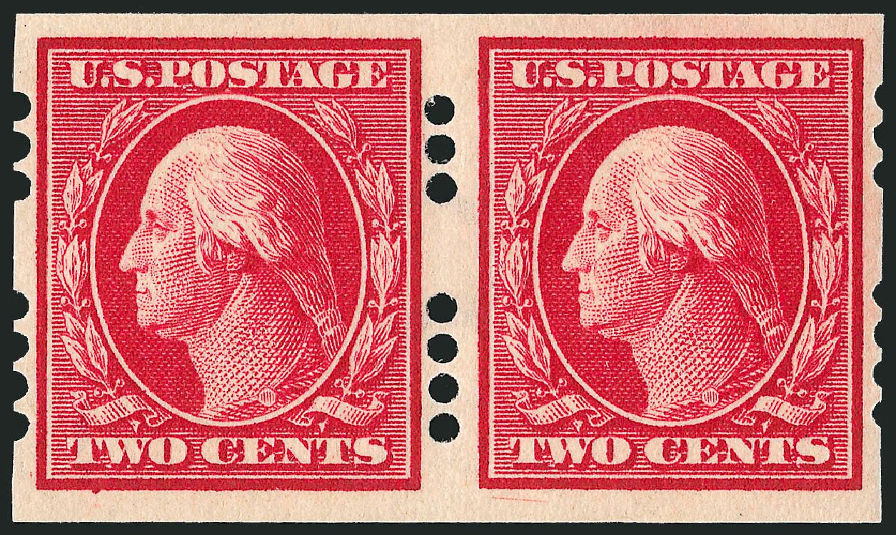 Price of US Stamp Scott Catalogue 384 - 2c 1910 Washington Imperf. Robert Siegel Auction Galleries, Dec 2008, Sale 967, Lot 4550
