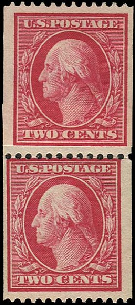 Value of US Stamp Scott #386 - 2c 1910 Washington Coil. Regency-Superior, Aug 2015, Sale 112, Lot 774
