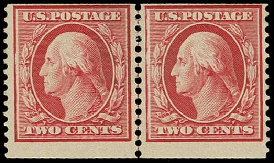 Price of US Stamps Scott Catalog #388: 1910 2c Washington Coil. H.R. Harmer, Jun 2015, Sale 3007, Lot 3318