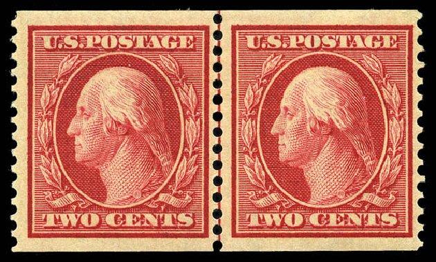 Costs of US Stamps Scott Catalog # 388: 1910 2c Washington Coil. Matthew Bennett International, May 2014, Sale 350, Lot 539