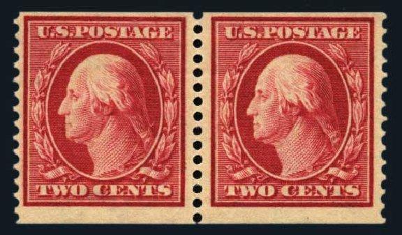 Prices of US Stamps Scott Catalog # 388: 2c 1910 Washington Coil. Harmer-Schau Auction Galleries, Aug 2014, Sale 102, Lot 1999