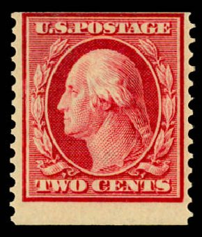 Price of US Stamps Scott Catalogue #388: 2c 1910 Washington Coil. Daniel Kelleher Auctions, May 2015, Sale 669, Lot 2945