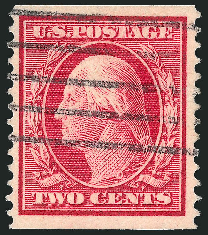 Price of US Stamp Scott Cat. # 388: 2c 1910 Washington Coil. Robert Siegel Auction Galleries, Feb 2015, Sale 1093, Lot 212