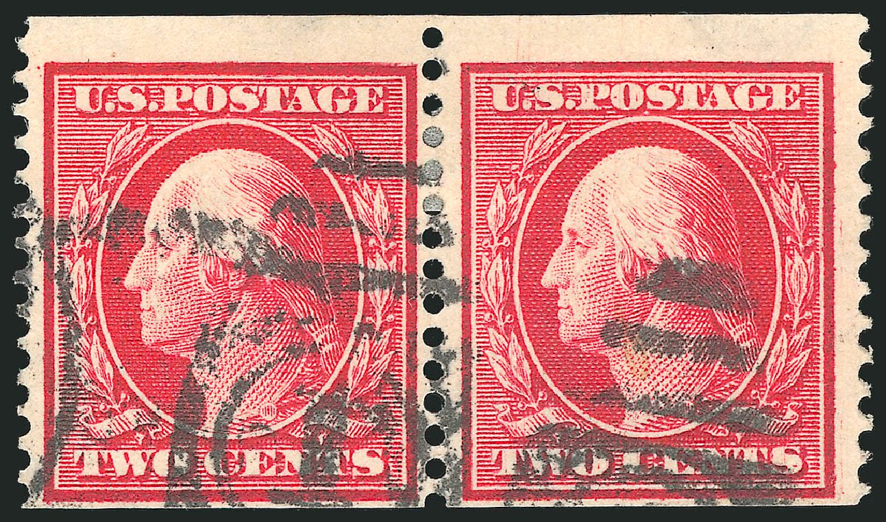 Price of US Stamps Scott Catalogue #388: 1910 2c Washington Coil. Robert Siegel Auction Galleries, Feb 2015, Sale 1093, Lot 213