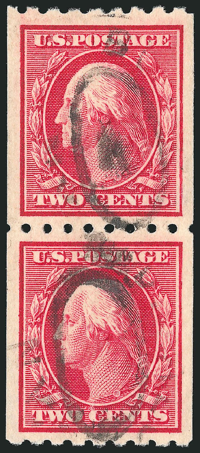 US Stamps Price Scott Catalog 391 - 2c 1910 Washington Coil. Robert Siegel Auction Galleries, Apr 2015, Sale 1096, Lot 635