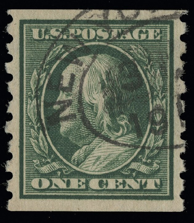 Prices of US Stamps Scott #392 - 1c 1910 Franklin Coil. Spink Shreves Galleries, Aug 2013, Sale 144, Lot 227