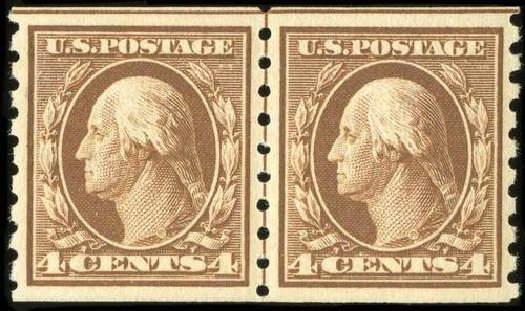 Prices of US Stamp Scott Catalogue # 395: 1912 4c Washington Coil. Spink Shreves Galleries, Jul 2015, Sale 151, Lot 282