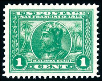 US Stamps Price Scott Catalogue #397: 1c 1913 Panama-Pacific Exposition. Schuyler J. Rumsey Philatelic Auctions, Apr 2015, Sale 60, Lot 2365