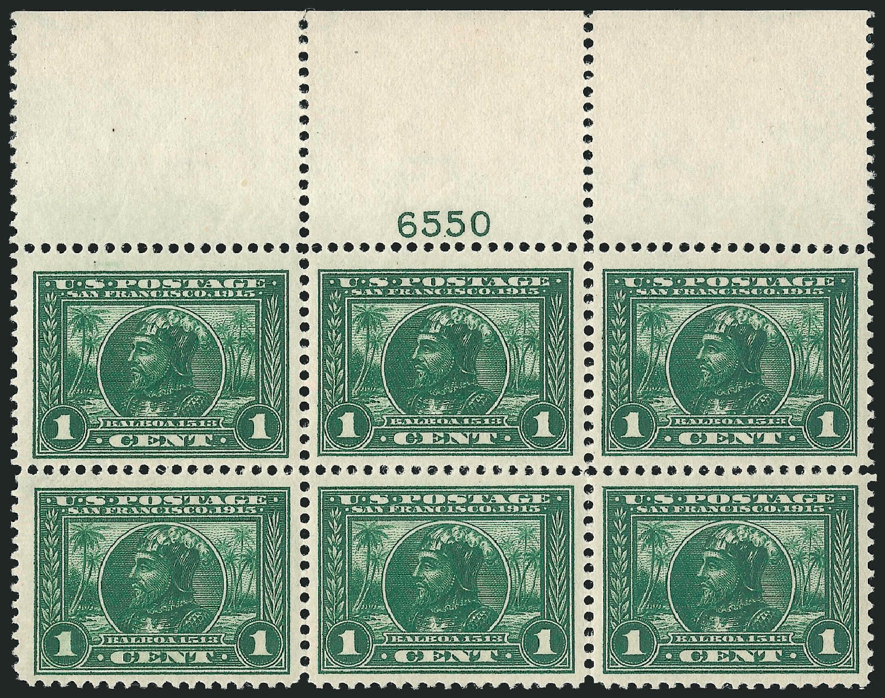 Prices of US Stamps Scott Catalogue # 397 - 1c 1913 Panama-Pacific Exposition. Robert Siegel Auction Galleries, Feb 2015, Sale 1093, Lot 232