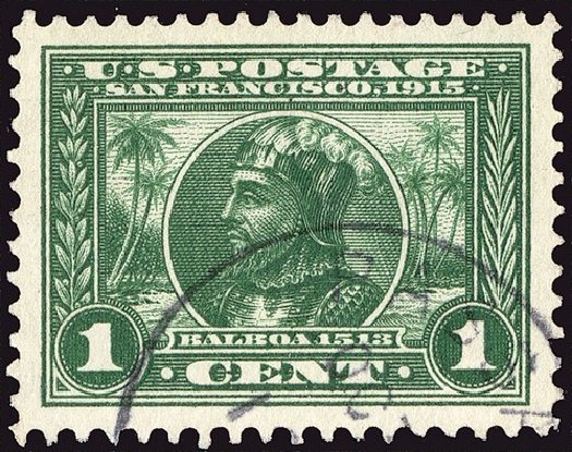 Costs of US Stamps Scott Cat. #397 - 1913 1c Panama-Pacific Exposition. Spink Shreves Galleries, Jan 2014, Sale 146, Lot 392