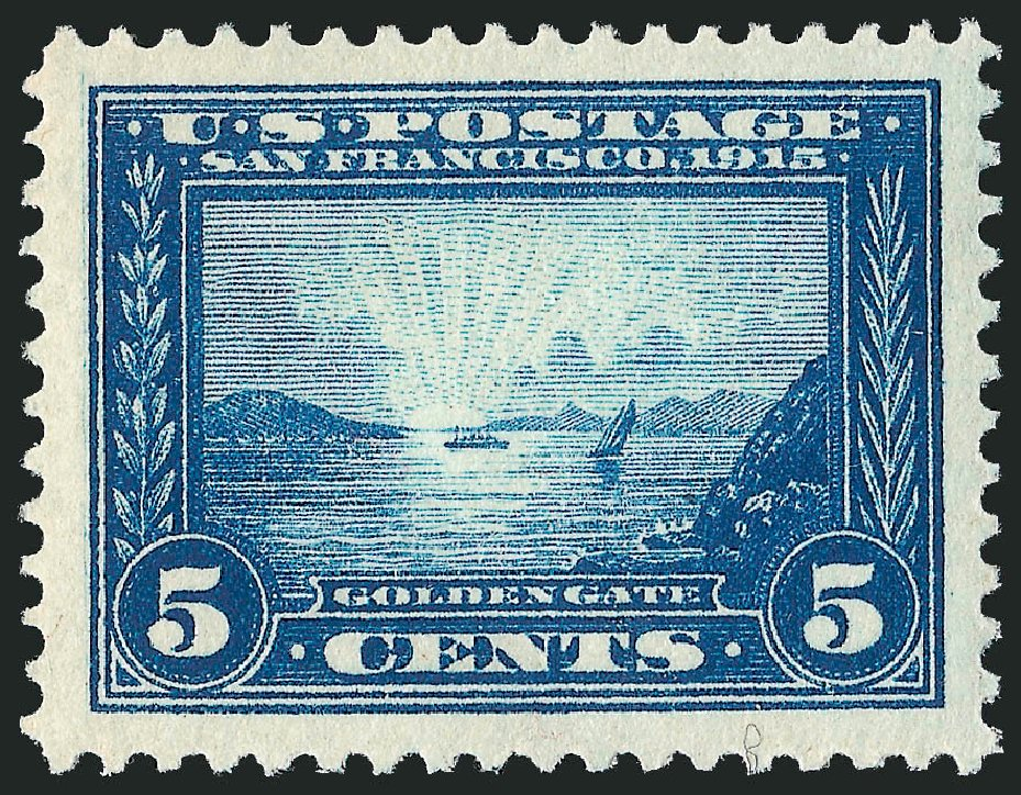 Costs of US Stamps Scott Catalog 399: 5c 1913 Panama-Pacific Exposition. Robert Siegel Auction Galleries, Apr 2015, Sale 1096, Lot 645