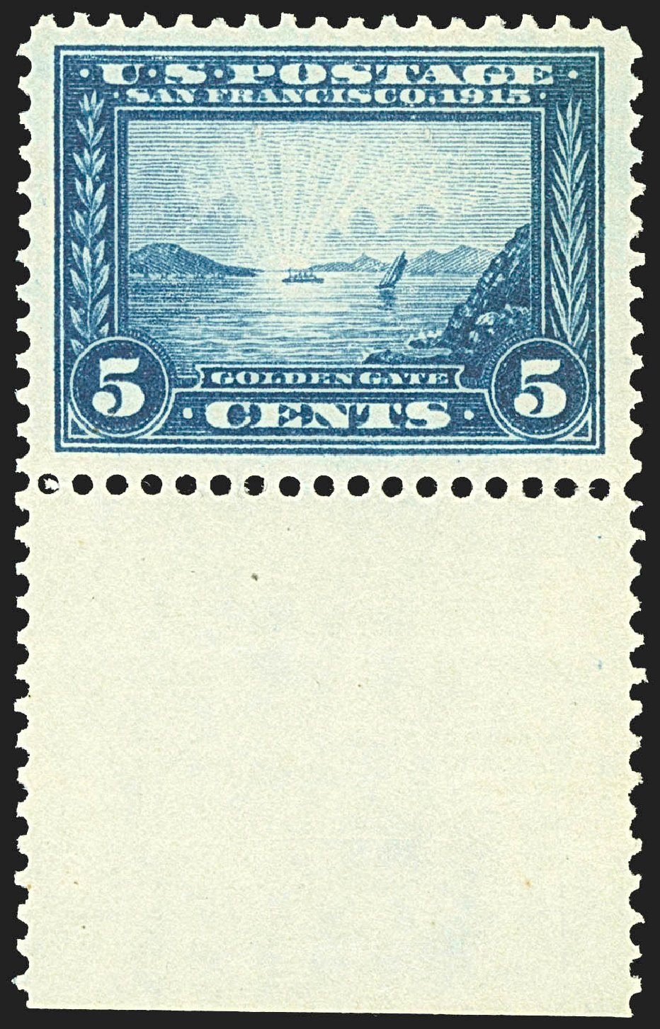 US Stamp Prices Scott # 399: 1913 5c Panama-Pacific Exposition. Robert Siegel Auction Galleries, Jul 2015, Sale 1107, Lot 455