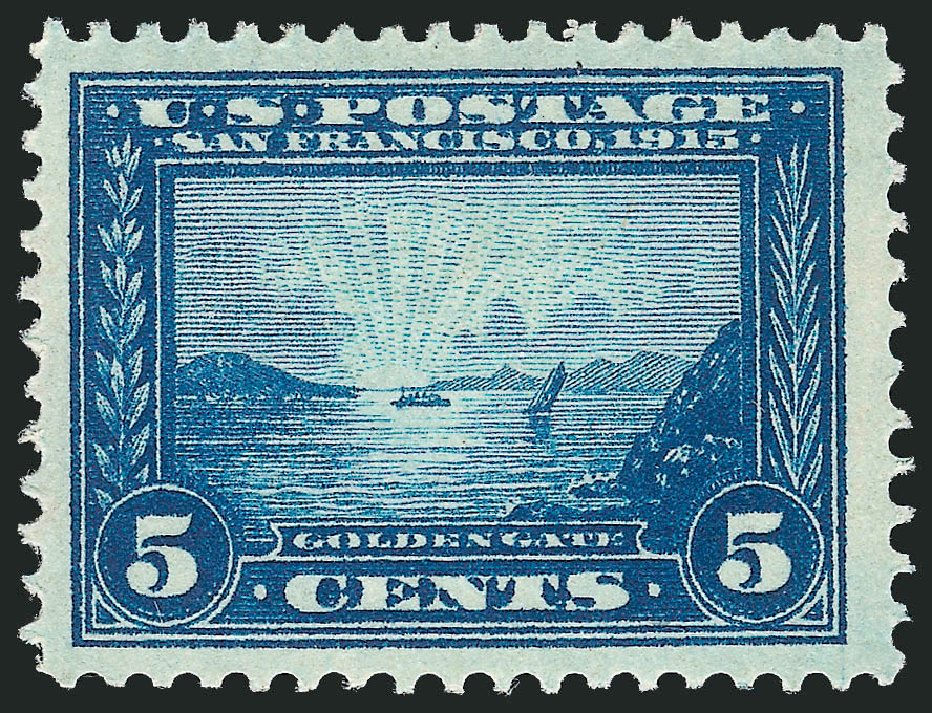 Price of US Stamps Scott #399 - 5c 1913 Panama-Pacific Exposition. Robert Siegel Auction Galleries, Jun 2015, Sale 1100, Lot 83