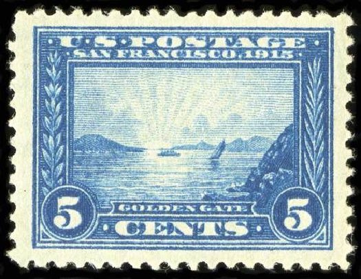 Prices of US Stamp Scott Cat. #399 - 5c 1913 Panama-Pacific Exposition. Spink Shreves Galleries, Jul 2015, Sale 151, Lot 286
