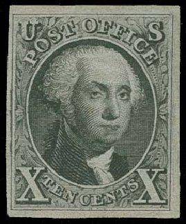 Cost of US Stamp Scott Catalog # 4: 1875 10c Washington. H.R. Harmer, Oct 2014, Sale 3006, Lot 1018