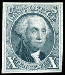 Price of US Stamp Scott # 4 - 1875 10c Washington. Schuyler J. Rumsey Philatelic Auctions, Apr 2015, Sale 60, Lot 1908